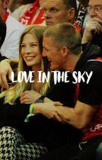 Love in the Sky - Sarah Brandner y Bastian Schweinsteiger by piqueornothing