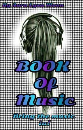 Book Of Music by HazeliaAuRa16