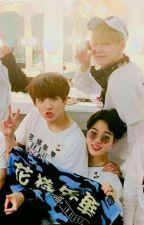 Love Triangle (YoonMinKook) +18 by SofiGomez523