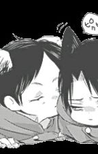 Pets (Neko Levi X Male Reader X Puppy Eren) by The_Bloody_Actor