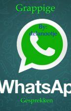 Grappige whatsapp gesprekken by delanootje