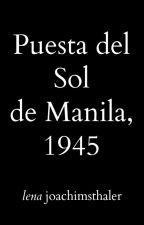 Puesta Del Sol de Manila, 1945 by LenaJoachimsthaler