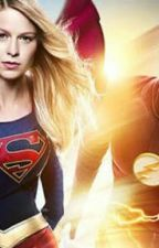 "A Nova Junção Da Dc Comics.. ""The Flash e Supergirl"" by LucasAlmeida227"