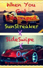 When You Get SideSwiped a SunstreakerXocXsidewipe by MangleIsAwsome
