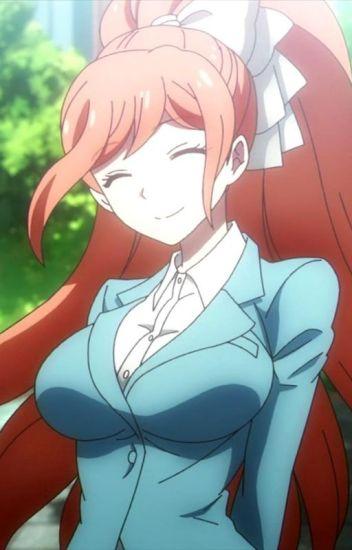 Anime teacher busty