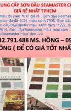 ĐẠI LÝ SƠN DẦU SEAMASTER 7600 MÀU VÀNG 7616 GIÁ RẺ -0918.34.22.77 HỒNG by thuyhong556677