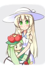 Lillie x male reader (pokemon) by DeathhellDK