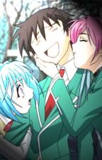 Rosario + Vampire (Awkward Times) by swaggster_