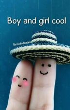 Boy and girl cool by Adindaadm24
