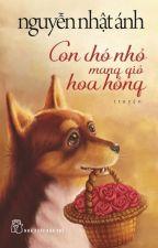 Con chó nhỏ mang giỏ hoa hồng by BibiNguyen1