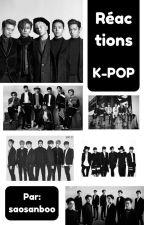 REACTION K-POP [BOYSBANDS] by saosanboo