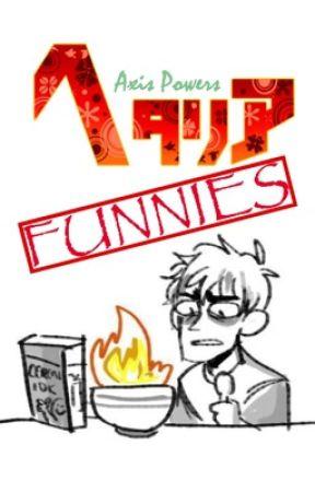 Hetalia Funnies!! by EllieBrine