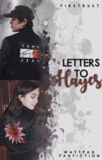LETTERS TO HAYES ✕ hayes grier by firstrust