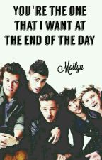 You're the one that I want at the end of the day by Moilyn