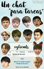 "Un Chat ""Para Tareas"" ➡ Exo by vyliends"