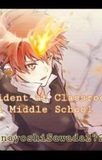 The Accident at Classroom 2-A Namimori Middle School by wokkeyyyyy27