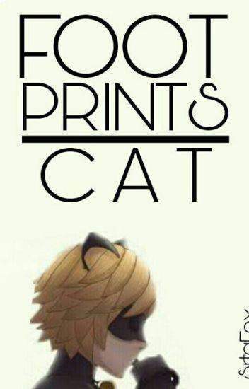 Footprints Cat