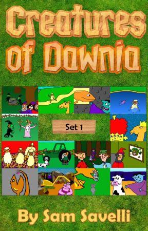 Creatures of Dawnia: Set 1 by CreaturesOfDawnia