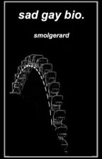 sad gay bio.  by SmolGerard