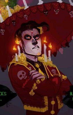 El muerte Manolo x reader(One shot) - Skeletons have heart