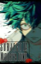 Subject 1-A: Midoriya, Izuku (Villain Deku) by theshipper101