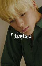 Texts † Jeno  by dububaozi