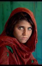 The Afghan Girl by SaharRazai