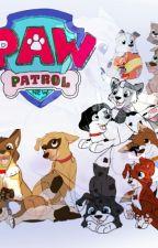 LAS  AVENTURAS DE LOS PAW PATROL X (jugando con el tiempo) by SilverWolfFire204