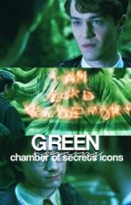 green ↣ chamber of secrets icons by hpicons