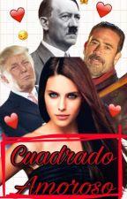 Cuadrado Amoroso. (Trump, Hitler y Negan)  by ItsJustFloyd