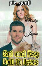Cat & Dog Fall In Love by genjimonde84