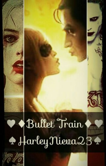 Bullet Train. (Joker & Harley Quinn)