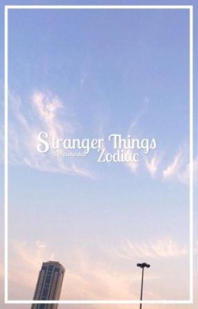 Stranger Things Zodiac by spidvy