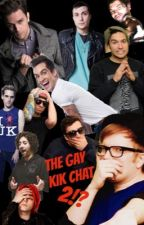 The Gay Kik Chat 2    ((2ND OF 3 BOOKS)) by SoGayItKindaHurts