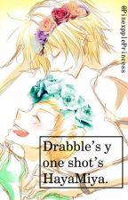 Drabble's y One shot's HayaMiya by PinexpplePrincess