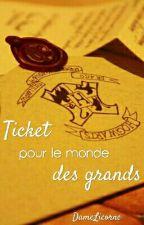 Ticket pour le monde des grands - Harry Potter by Dame-Licorne