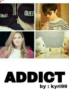 Addict ; Mark Lee & Kim Yerim by kyri99