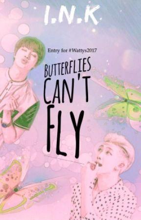 Butterflies Can't Fly (Namjin AU) #Wattys2017 by atramentous_writer