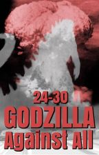 Godzilla Against All: Part 4 by X-LAyer2
