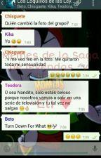 Equipo Cazafantasmas (Whatsapp) by StellaSanJuan