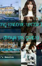 Falling Inlove With Them( Girls vs Boys) by kylamaelandrito