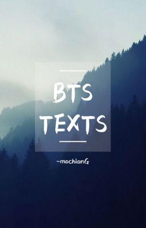BTS TEXTS ➻ BTS by -mochianG