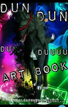 MY ART BOOK  by animalsareawesomenlr
