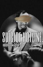 suicide hotline. by bruhmaddy