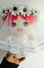 wedding dress ; jjk + kth by 97stae