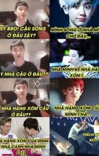 INTERESTING LIFE- ChanBaek, Hunhan, VKook, Hopemin. by MinMin13101802
