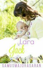 Lara Y Jack by SamusMajorasAran