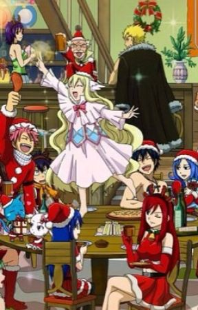 fairy christmas fairy tail christmas fanfic