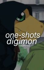 One-Shots; Digimon [DigiBoys X Reader] by -luhxn