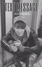 text message + wonho by kianabadkat